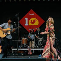 Violet Bell at Rooster Walk 2018 - photo © Gina Elliott Proulx