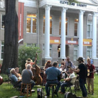 Pickin' on the Square at the Earl Scruggs Center in Shelby, NC