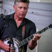 Eric Gibson at the 2018 Bluegrass On The Grass festival - photo by Frank Baker
