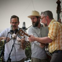 Lonesome Ace String Band at the 2018 Bluegrass On The Grass festival - photo by Frank Baker