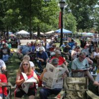2018 Bluegrass On The Grass festival - photo by Frank Baker