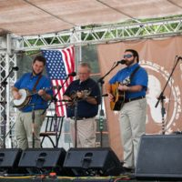 The Kevin Prater Band at the 2018 Remington Ryde Bluegrass Festival - photo by Frank Baker