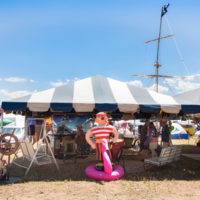 Campsite at Grey Fox 2018 - photo © Tara Linhardt