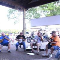 Jamming at the Marshall Bluegrass Festival - photo © Bill Warren