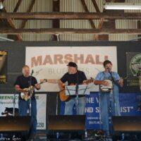 Bridge at the Marshall Bluegrass Festival - photo © Bill Warren