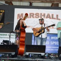 Crossfire at the Marshall Bluegrass Festival - photo © Bill Warren