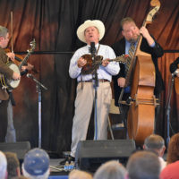 Davis Davis & The Warrior River Boys at the 2018 High Mountain Hay Fever festival - photo by Kevin Slick