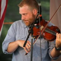 Adam Haynes with The Grascals at the 2018 Remington Ryde Bluegrass Festival - photo by Frank Baker
