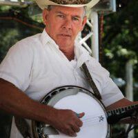 Larry Gillis at the 2018Remington Ryde Bluegrass Festival - photo by Frank Baker