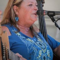 Laura Walker with The Dismembered Tennesseans at Bluegrass on the Grass 2018 - photo by Frank Baker