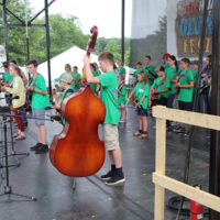 Kids Camp at the 2018 Red, White & Bluegrass Festival - photo by Laura Tate Photography