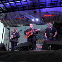 Russell Moore & IIIrd Tyme Out at the 2018 Red, White & Bluegrass Festival - photo by Laura Tate Photography