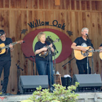 Carolina Road at the 2018 Willow Oak Bluegrass Festival - photo © Beckie Howard
