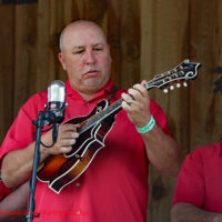 Shayne Bartley with Cardinal Tradition at the 2018 Willow Oak Bluegrass Festival - photo © Beckie Howard