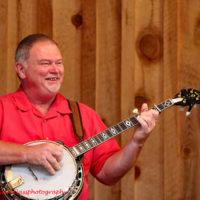 Dale Perry with Cardinal Tradition at the 2018 Willow Oak Bluegrass Festival - photo © Beckie Howard