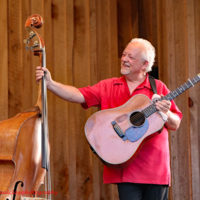 David Parmley at the 2018 Willow Oak Bluegrass Festival - photo © Beckie Howard