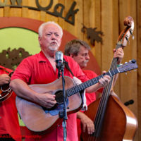 David Parmley with Cardinal Tradition at the 2018 Willow Oak Bluegrass Festival - photo © Beckie Howard