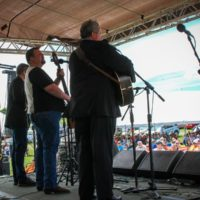 Russell Moore & IIIrd Tyme Out at the 2018Remington Ryde Bluegrass Festival - photo by Frank Baker