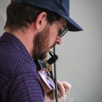 Ryan Drickey with FY5 at Bluegrass on the Grass 2018 - photo by Frank Baker