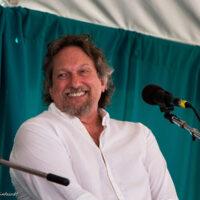 Jerry Douglas at the John Duffey Tribute at Grey Fox 2018 - photo © Tara Linhardt