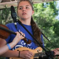 Echo Valley at the 2018Remington Ryde Bluegrass Festival - photo by Frank Baker