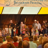 Kids program at the 2018 High Mountain Hay Fever festival - photo by Kevin Slick