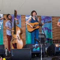 Molly Tuttle Band at Grey Fox 2018 - photo © Tara Linhardt