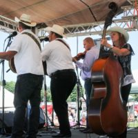 Larry Gillis & Swampgrass at the 2018Remington Ryde Bluegrass Festival - photo by Frank Baker