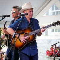 The Gibson Brothers at the 2018 Bluegrass On The Grass festival - photo by Frank Baker