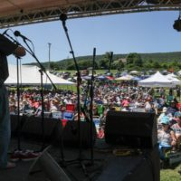 Nothin' Fancy at the 2018Remington Ryde Bluegrass Festival - photo by Frank Baker