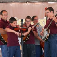 J-Tyme Band at the 2018Remington Ryde Bluegrass Festival - photo by Frank Baker