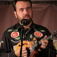 Taylor Malpass at the 2018Remington Ryde Bluegrass Festival - photo by Frank Baker
