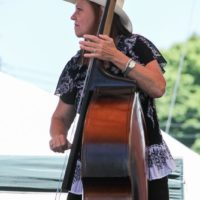 Kristi Gillis with Swampgrass at the 2018Remington Ryde Bluegrass Festival - photo by Frank Baker