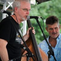 Terry Smith and Terry Eldredge with The Grascals at the 2018 Remington Ryde Bluegrass Festival - photo by Frank Baker