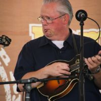 Kevin Prater at the 2018 Remington Ryde Bluegrass Festival - photo by Frank Baker