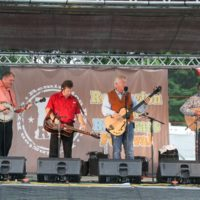 The Farm Hands at the 2018 Remington Ryde Bluegrass Festival - photo by Frank Baker