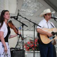 Buffalo Mountain Bluegrass at Bluegrass on the Grass 2018 - photo by Frank Baker