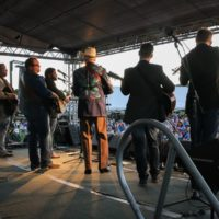 Doyle Lawson & Quicksilver at the 2018Remington Ryde Bluegrass Festival - photo by Frank Baker
