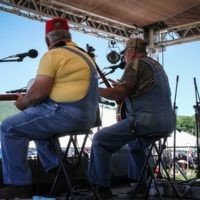 Moron Brothers at the 2018Remington Ryde Bluegrass Festival - photo by Frank Baker