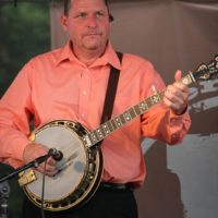 Don Hill with The Farm Hands at the 2018 Remington Ryde Bluegrass Festival - photo by Frank Baker