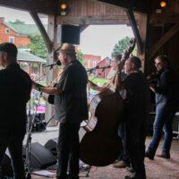 Seldom Scene at the August 2018 Gettysburg Bluegrass Festival - photo by Frank Baker