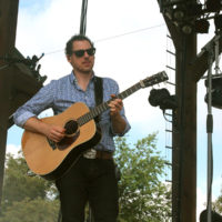 Andy Falco with Infamous Stringdusters at FloydFest 2018 - photo by Teresa Gereaux