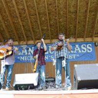 Hammertowne at the 2018 Milan Bluegrass Festival - photo © Bill Warren