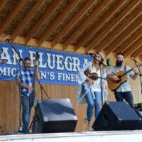 Summer Brooke & The Mountain Faith Band at the 2018 Milan Bluegrass Festival - photo © Bill Warren