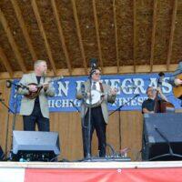 Joe Mullins & The Radio Ramblers at the 2018 Milan Bluegrass Festival - photo © Bill Warren