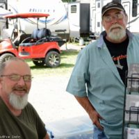 Donnie Carver and Jimmy Kittle at the 2018 Milan Bluegrass Festival - photo © Bill Warren