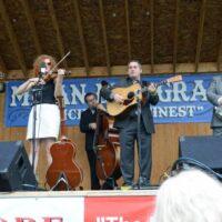 Becky Buller Band at the 2018 Milan Bluegrass Festival - photo © Bill Warren
