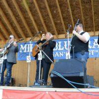 Russell Moore & IIIrd Tyme Out at the 2018 Milan Bluegrass Festival - photo © Bill Warren