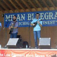 Breaking Grass at the 2018 Milan Bluegrass Festival - photo © Bill Warren