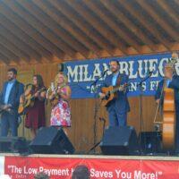 Rhonda Vincent & The Rage at the 2018 Milan Bluegrass Festival - photo © Bill Warren